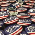 Political Junkie buttons