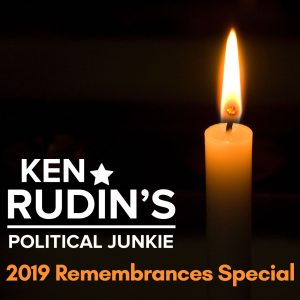 Political Junkie 2019 Remembrances Special logo