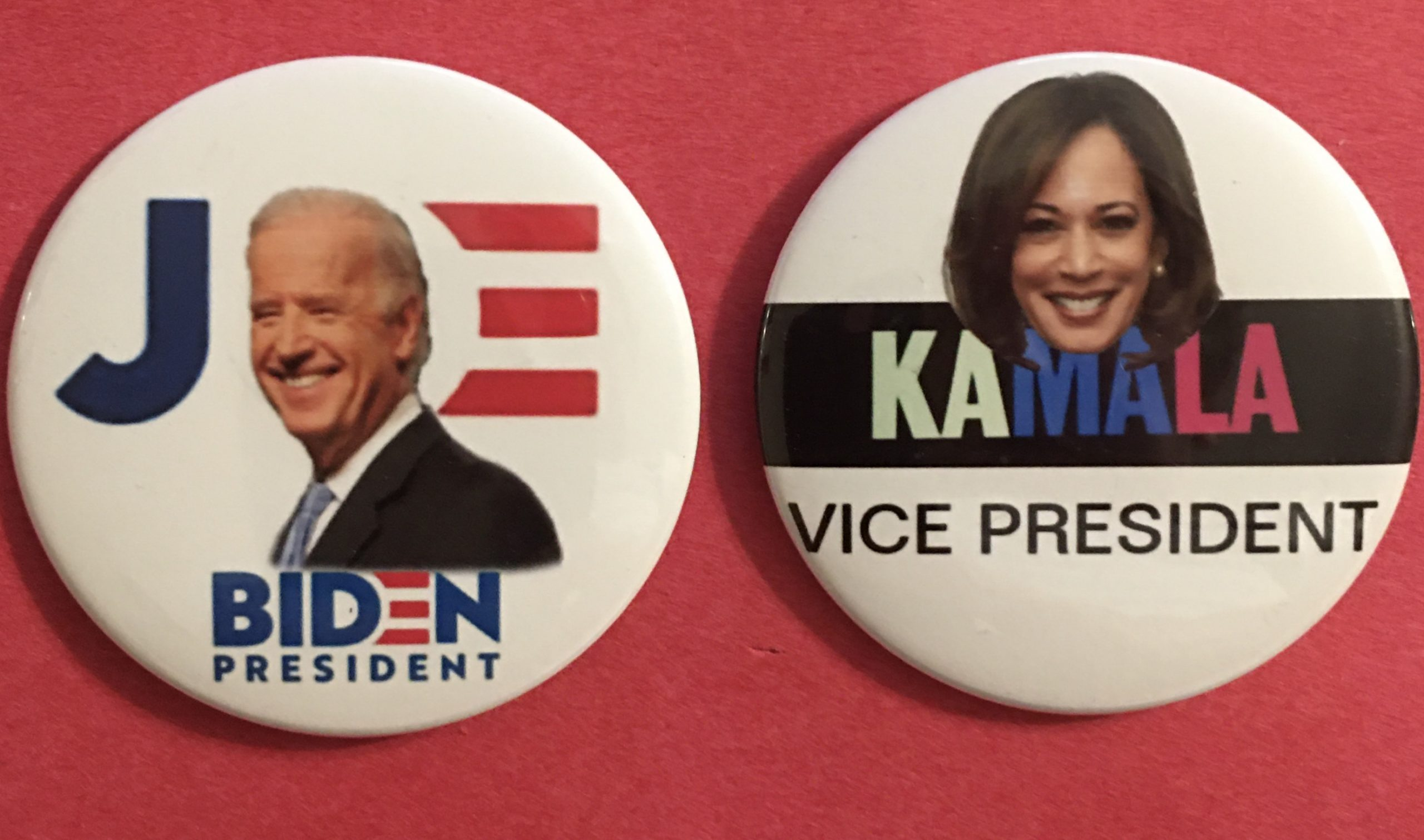Joe Biden - Kamala Harris buttons